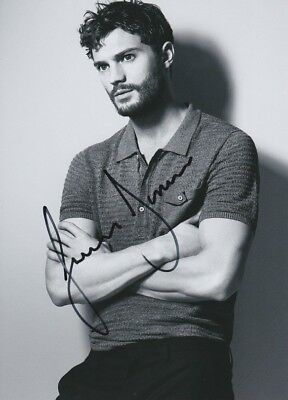 JAMIE DORNAN signed Autogramm 20x28cm FIFTY SHADES OF GREY In Person autograph