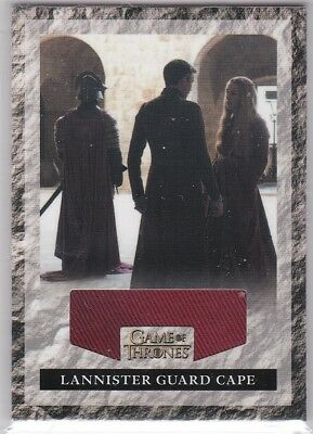 Game Of Thrones Season 2 Rlg1 Lannister Guard Cape Relic 547/575