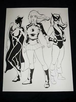 Original Comic Art Pin-up Commissions