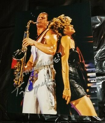 Tim Cappello Signed Tina Turner Wildest Dreams Tour The Lost Boys 8X10 Photo