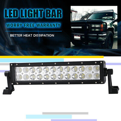 12inch CREE LED Light Bar Work Off road Truck Boat Jeep Ford SUV ATV UTE 4WD 4x4