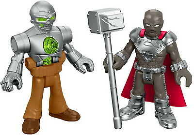 Fisher-Price Imaginext DC Super Friends Figure Pack - Steel & Metallo