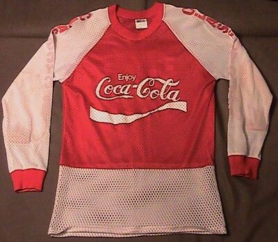 Old School 1980s BMX race used jersey Class Cycles Coca-Cola & Dominos sponsored