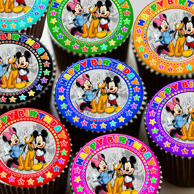 Mickey Mouse Edible Cake Toppers Australia