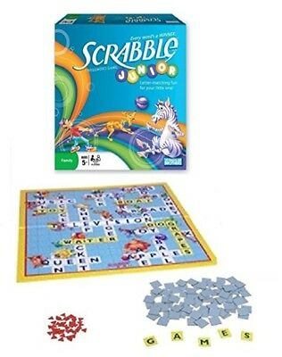 Parker Brothers JUNIOR SCRABBLE Crossword Game. NEW & SEALED. Ages 5+