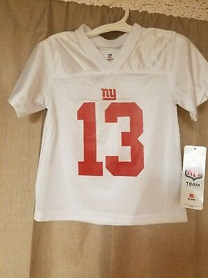 Odell Beckham Jr New York Giants White Toddler 3T Mesh NFL Jersey Unisex