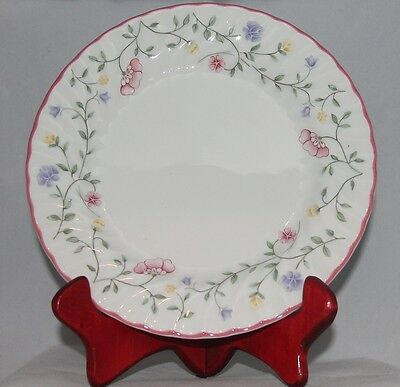 7 Johnson Brothers BREAD & BUTTER PLATES  england  SUMMER CHINTZ floral
