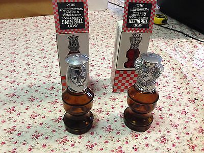 "Vintage Avon ""THE KING CHESS PIECE & THE QUEEN CHESS PIECE"" After Shave"