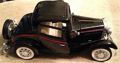 1932 Ford 3 Window Coupe Sunnyside Model Ss-7722 1/24 Scale Nr/mt Condition