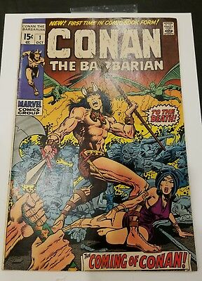 Conan the Barbarian #1  1970 Marvel