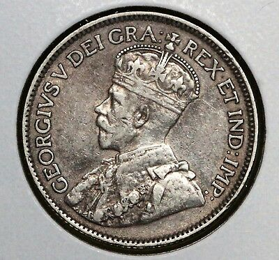 1913 25C Canada 25 Cents XF+ TOUGH EARLY DATE PRICED TO SELL!