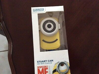 Brand New STUART CAM HD WiFi Camera DESPICABLE ME Minion  New Free S&H