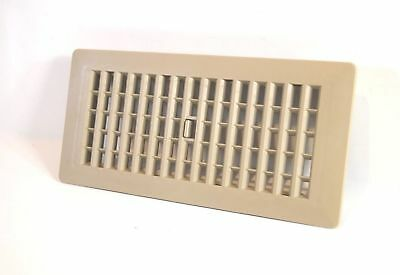 Decor-Grates-Floor-Register-Plastic-Taupe Color Design-Air-Vent-4x10,4x12, 2x14.