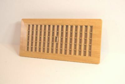 "Decor-Grates-Floor-Register-Plastic-Oak Caramel-Air-Vent 4""x8"", 4x10, 4x12, 2x14"