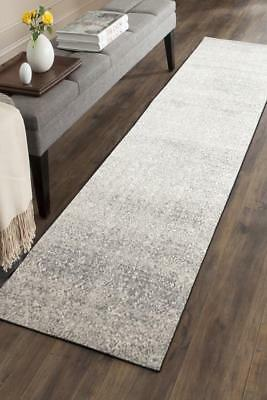 Hallway Runner Hall Runner Rug Modern Grey 3 Metres Long Premium Edith 252