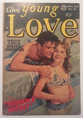 Young Love v.5 #3 (#45), Kirby art, beautiful feisty females