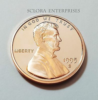 1995 S Lincoln Memorial *proof* Cent / Penny  **free Shipping**