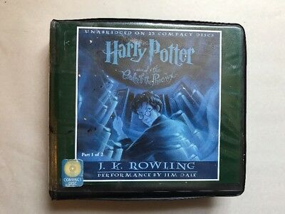Harry Potter and the Order of the Phoenix Audiobook CD Set Part One