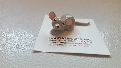 Hagen Renaker Mouse Papa Figurine Miniature Collect Gift New Free Shipping 00358