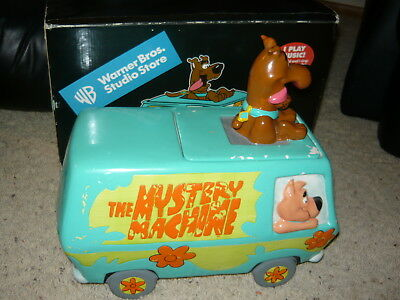 WBSS Scooby Doo Shaggy Scrappy Mystery Machine Cookie Jar