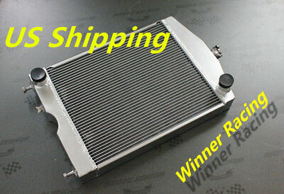 Aluminum Radiator Ford 2N/8N/9N tractor w/ford 305 5L V8 engine 1928-1952 56MM