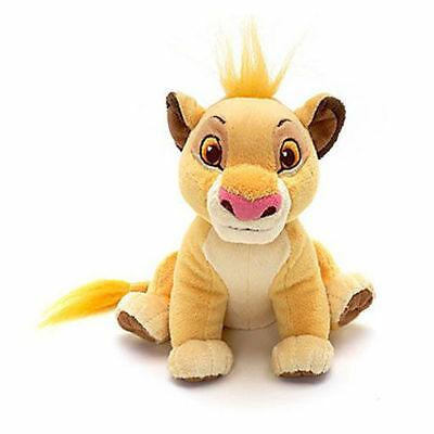New Official Disney The Lion King 19cm Simba Mini Bean Soft Plush Toy