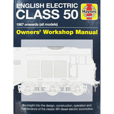 Haynes English Electric Class 50 - Owners Workshop Manual, Brand New