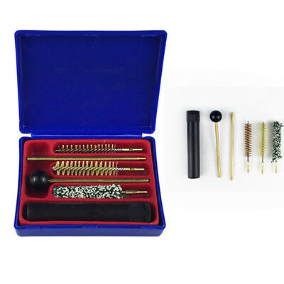 5in1 Universal Pistol Gun Cleaning Kit Tools Set Brushes Rifle Cleaner With Box