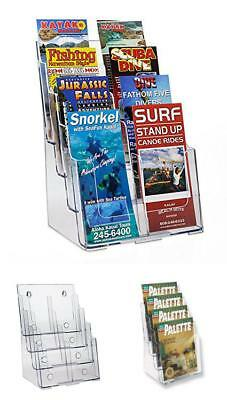 4Tier 8Pkt Greeting Card Post Card Birthday Christmas Holiday Display Rack Stand