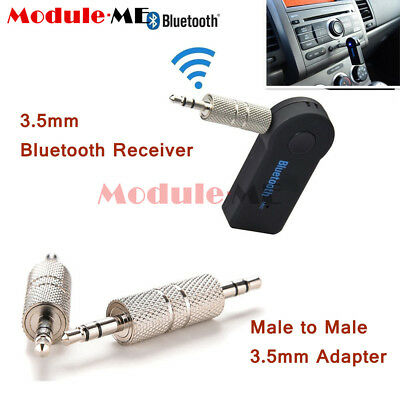 Bluetooth V3.0 Wireless Stereo Audio Music Receiver 3.5mm Handsfree Car AUX UK