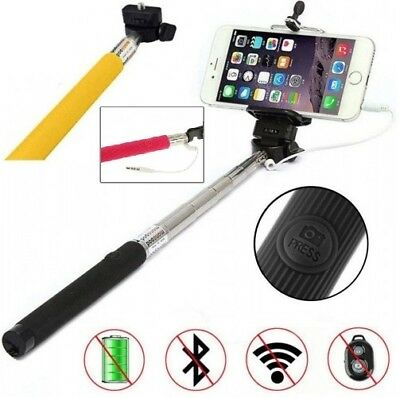 Selfie Stick Telescopic Extendable Wired 3.5mm Jack connector for Various Models