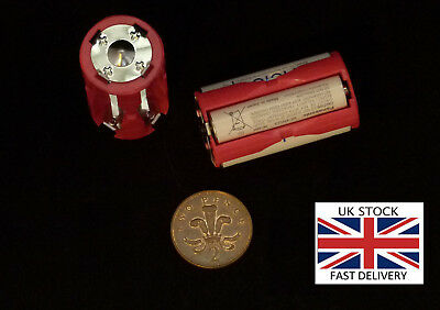 1 pair(2Pcs) 4 AAA to C size battery converter - UK STOCK-FREE P&P