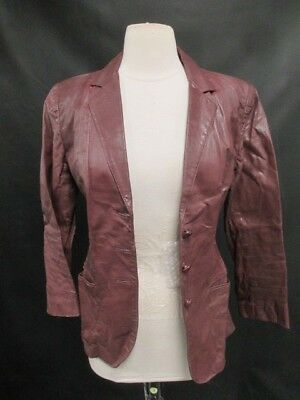 An Original by Peter Caruso Vintage 100% Genuine Leather Jacket Made in the USA
