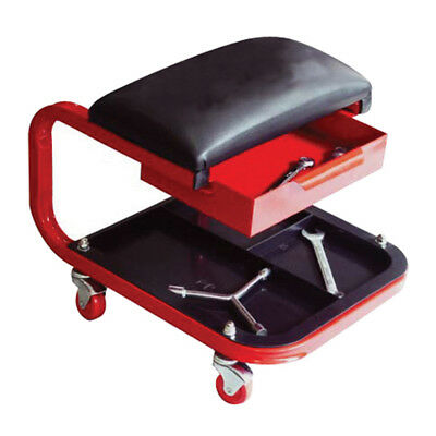 Rolling Creeper Seat Chair Tool Tray Repair Shop Garage Stool TR6301