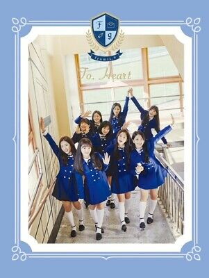 FROMIS_9 1st Mini Album [To. Heart] BLUE Ver. CD+Photobook+Postcard+Letter+Photo