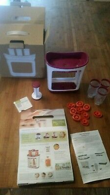 Infantino Fresh Squeezed Squeeze Station Baby Food Maker