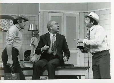 "Jacques Balutin Guy Trejan Mario David ""la Tete Des Autres"" Photo Theatre Em"