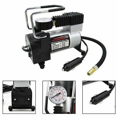 12v150psi Heavy Duty Deluxe Portable Metal Air Compressor Car Tyre NR