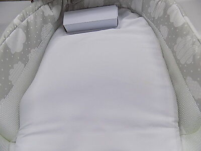 Baby Delight Snuggle Nest Surround XL - Silver Cloud Baby Co-Sleeper  DAMAGED BO