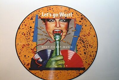 Let's Go West! West Coast Music The Best Of West - Picture Disc-LP