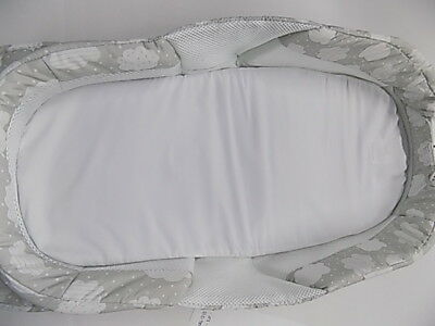Baby Delight Snuggle Nest Surround XL - Silver Cloud Baby Co-Sleeper