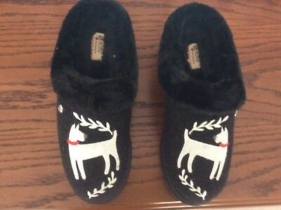 BOBs Skechers Keepsakes DOGGONE Dog Slippers 8.5 New