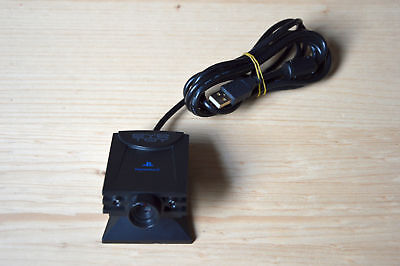 PS2 - Original EyeToy USB Kamera in Schwarz für Sony Playstation 2