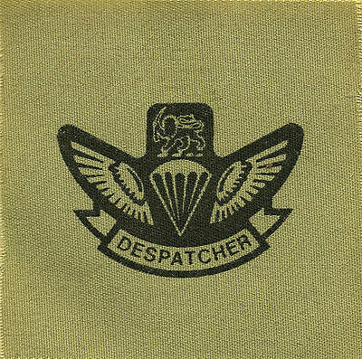 Patch - Rhodesia - Air Despatcher wings