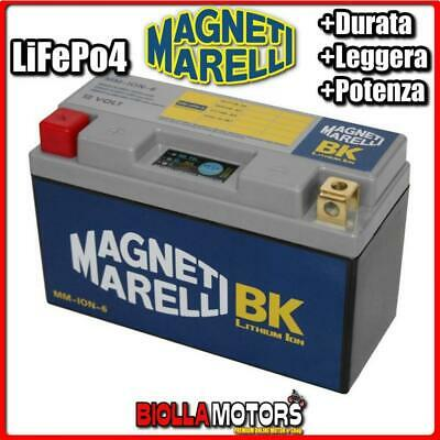 MM-ION-6 BATTERIA LITIO 12V 20AH YT12B-BS DUCATI Monoposto, Bistro, S 996 2001-