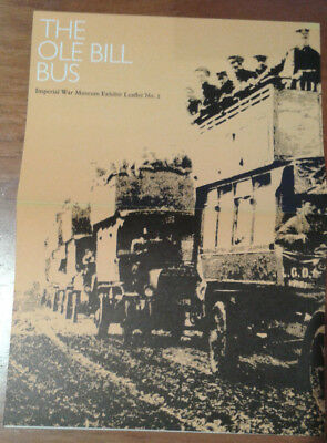 The Ole Bill Bus - Imperial War Museum Exhibition Leaflet No 2