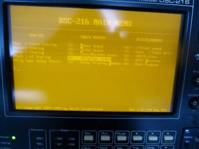 Ancot DSC-216  DSC-216/F SCSI-Bus Analyzer