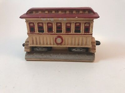 VIntage Americana Byron Molds Holiday Christmas Train Passenger Car replacement