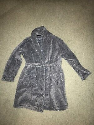 Boys Fleece Dressing Gown Age 10-11 Years