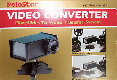 PoleStar Video Converter - Kleinbildbildfilm (z. B. 8 mm) Dia Video Transfer #FH
